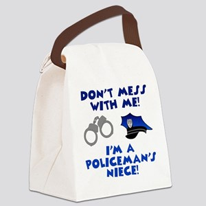 Policeman's Niece Canvas Lunch Bag