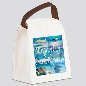 Stingray City Grand Cayman Canvas Lunch Bag