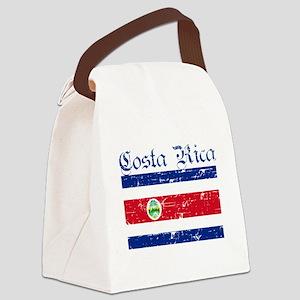 Costa rica Flag Canvas Lunch Bag