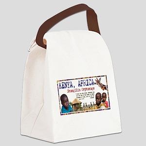 Love For Kenya Shangalia Orph Canvas Lunch Bag