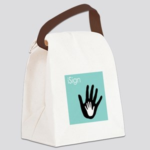 iSign - Canvas Lunch Bag