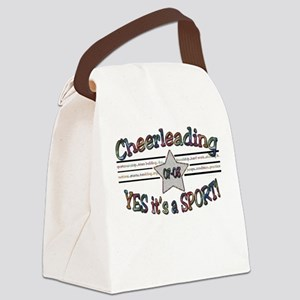 Cheer is a Sport Canvas Lunch Bag