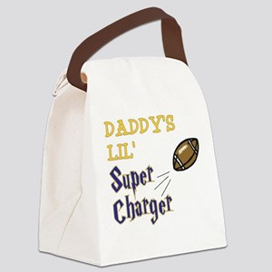 DADDY'S LIL' Super Charger Canvas Lunch Bag