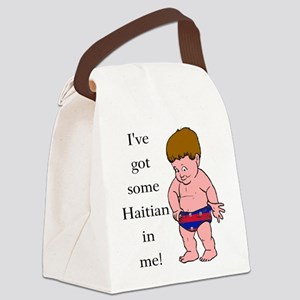 """""""Haitian In Me"""" Canvas Lunch Bag"""