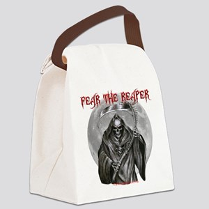 Fear The Reaper Canvas Lunch Bag