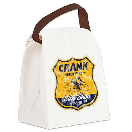CRANK BROS. BIKES Canvas Lunch Bag