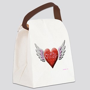 Pinay Angel Canvas Lunch Bag