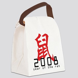 2008 Year of The Rat Canvas Lunch Bag