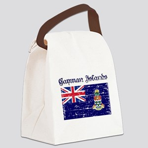 Cayman Island Flags Canvas Lunch Bag