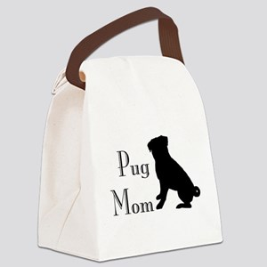 Pug Mom Canvas Lunch Bag