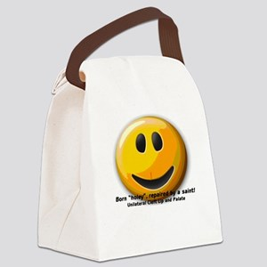 unilateral Cleft Canvas Lunch Bag