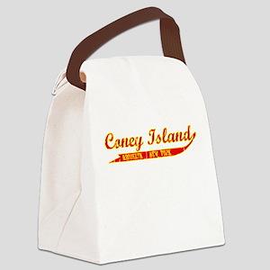 Coney Island Canvas Lunch Bag