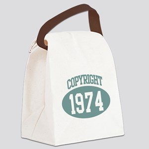 Copyright 1974 Canvas Lunch Bag