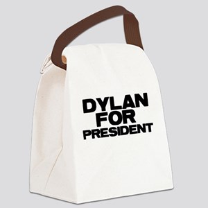 Dylan For President Canvas Lunch Bag