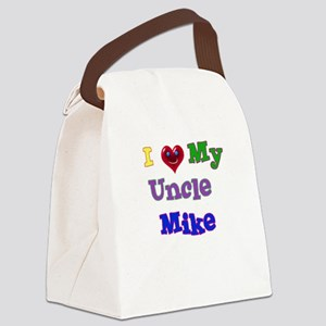 I LOVE MY UNCLE Canvas Lunch Bag