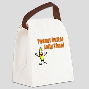 Dancing Banana Canvas Lunch Bag