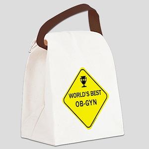 Ob-Gyn Canvas Lunch Bag