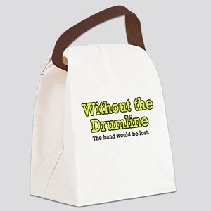 Without Drumline Canvas Lunch Bag