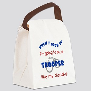 Trooper Like Daddy Canvas Lunch Bag