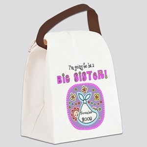 November 2008 Big Sister Canvas Lunch Bag