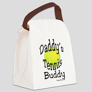 Daddy's Tennis Buddy Canvas Lunch Bag