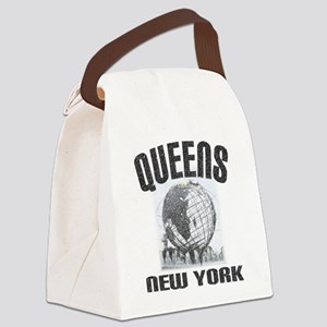 Queens, New York Canvas Lunch Bag