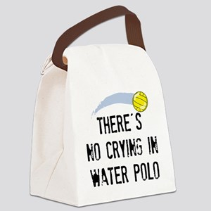 No Crying (WP) Canvas Lunch Bag