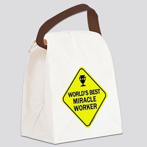 Miracle Worker Canvas Lunch Bag