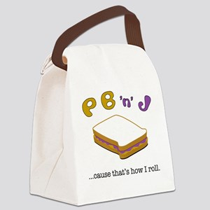 PBJ Canvas Lunch Bag