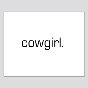 Cowgirl Small Poster