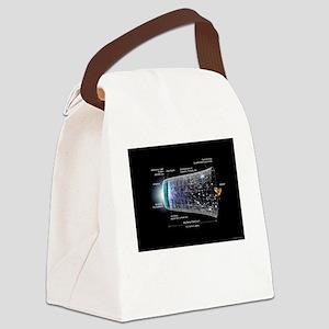 Big Bang Canvas Lunch Bag