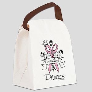 Scrapbook Princess Canvas Lunch Bag