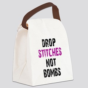 Drop Stitches not Bombs Canvas Lunch Bag
