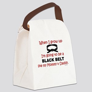 Black Belt Like My Mommy & Daddy Kids Light T-Shir