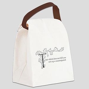 wontoughcookie.com Canvas Lunch Bag