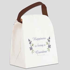 Happy Grandma Canvas Lunch Bag
