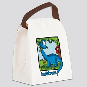 Herbivore Canvas Lunch Bag