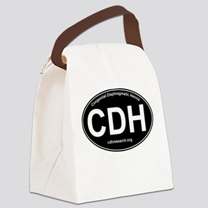 CDH Awareness Logo Canvas Lunch Bag