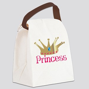 Princess Canvas Lunch Bag