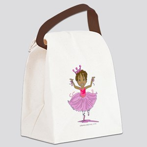Ballerina Dancer Canvas Lunch Bag