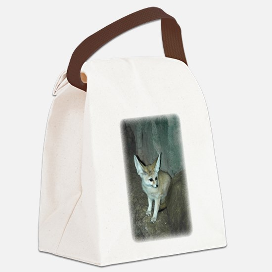 Fennec Fox Canvas Lunch Bag