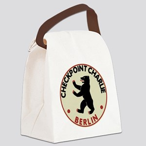 Checkpoint Charlie Canvas Lunch Bag