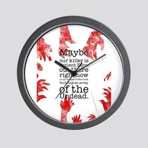 Army of the undead Wall Clock