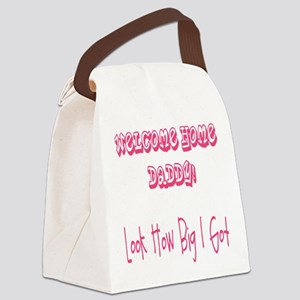 Girls_How Big! Canvas Lunch Bag