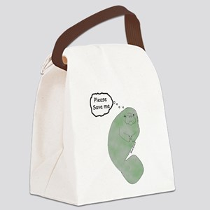 Save Me Canvas Lunch Bag