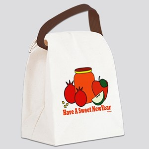 Jewish Sweet New Year Canvas Lunch Bag