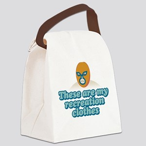 Recreation Clothes Canvas Lunch Bag