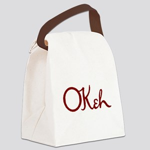 OKeh Records Canvas Lunch Bag