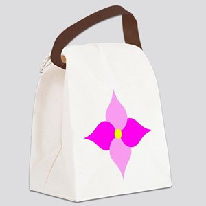Lucky Lilac Canvas Lunch Bag