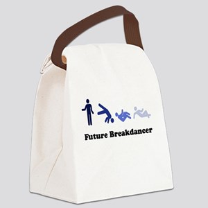 Future Breakdancer blues Canvas Lunch Bag
